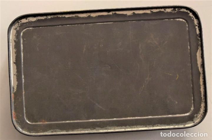 Cajas y cajitas metálicas: PRECIOSA CAJA METÁLICA DULCE DE MEMBRILLO CLASE EXTRA SIN MARCA - 17,5 X 11 X 3,8 CM - Foto 10 - 241157125