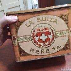 Cajas y cajitas metálicas: CAJA DE LATA LA SUIZA REÑE S. A... Lote 241629520