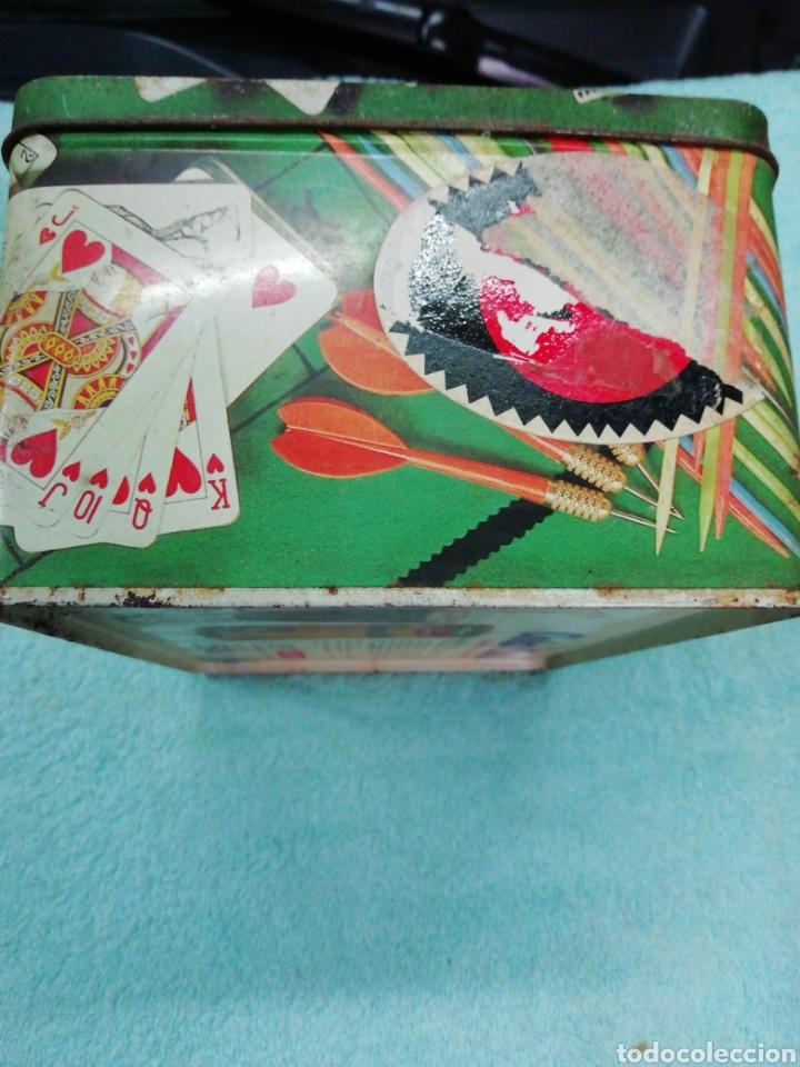 Cajas y cajitas metálicas: Caja de chapa cola cao, temática juegos - Foto 3 - 242469140