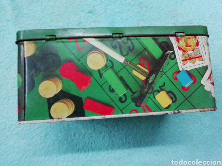 Cajas y cajitas metálicas: Caja de chapa cola cao, temática juegos - Foto 4 - 242469140
