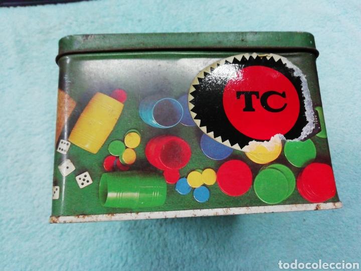Cajas y cajitas metálicas: Caja de chapa cola cao, temática juegos - Foto 5 - 242469140
