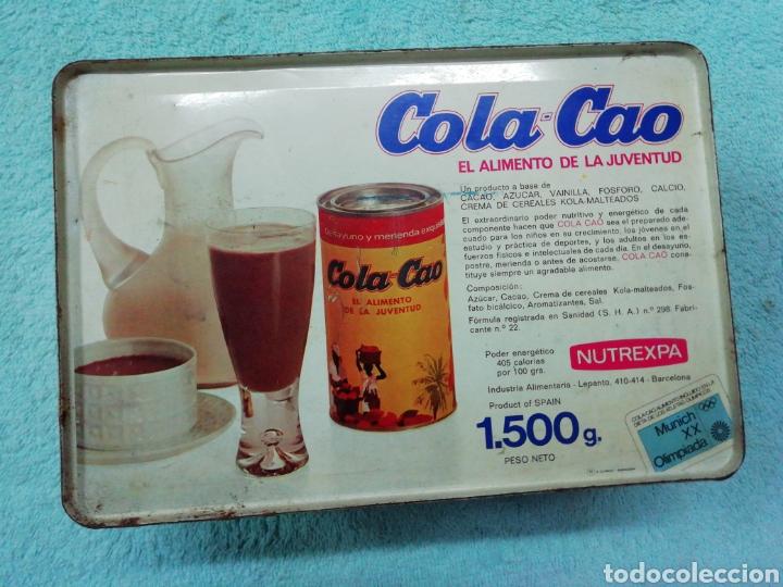 Cajas y cajitas metálicas: Caja de chapa cola cao, temática juegos - Foto 6 - 242469140