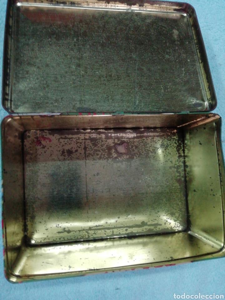 Cajas y cajitas metálicas: Caja de chapa cola cao, temática juegos - Foto 7 - 242469140