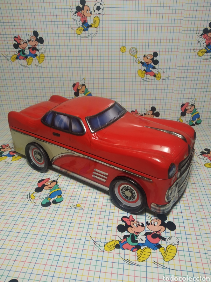 Cajas y cajitas metálicas: Coche metálico caja de galletas - Foto 3 - 243832290