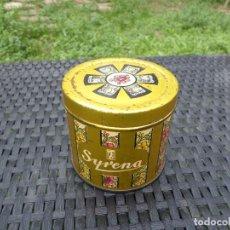 Cajas y cajitas metálicas: LATA MARCA SIRENA. Lote 245077180