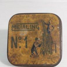 Cajas y cajitas metálicas: CAJA METALING. Lote 245419660