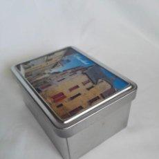 Cajas y cajitas metálicas: CAJA DE LATA FRANCESA TAMAÑO 12,5 CM LARGO X 9,5 CM ANCHO X 6 CM ALTO. Lote 247522525