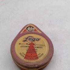 Cajas y cajitas metálicas: FOGO CUCARACHAS. Lote 247776170