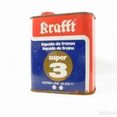 Cajas y cajitas metálicas: ANTIGUA LATA KRAFFT SUPER 3. Lote 254444640