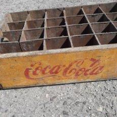 Cajas y cajitas metálicas: CAJA DE COCA COLA DE MADERA ANTIGUA. Lote 255360050