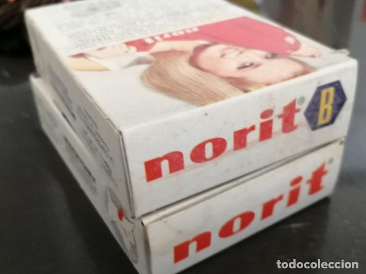 Cajas y cajitas metálicas: Antiguo embase de cartón detergente NORIT, Sin abrir. Años 60. 7x10x2,5cm - Foto 5 - 255388200