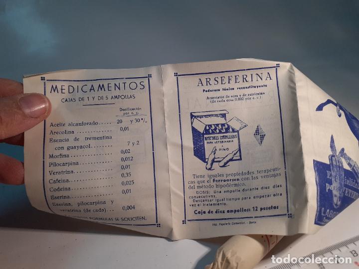 Cajas y cajitas metálicas: CAJA DE FARMACIA ESERINA PARA VETERINARIA M. PINO // SIN DESPRECINTAR - Foto 3 - 255651340