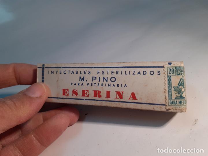 Cajas y cajitas metálicas: CAJA DE FARMACIA ESERINA PARA VETERINARIA M. PINO // SIN DESPRECINTAR - Foto 4 - 255651340
