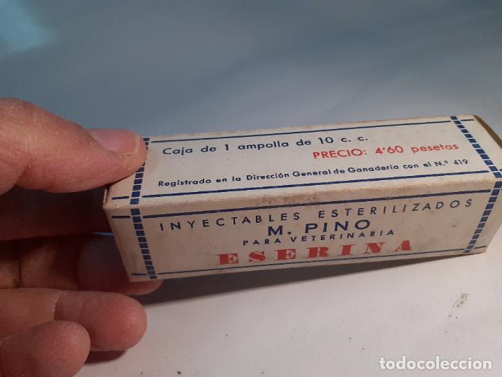 Cajas y cajitas metálicas: CAJA DE FARMACIA ESERINA PARA VETERINARIA M. PINO // SIN DESPRECINTAR - Foto 6 - 255651340