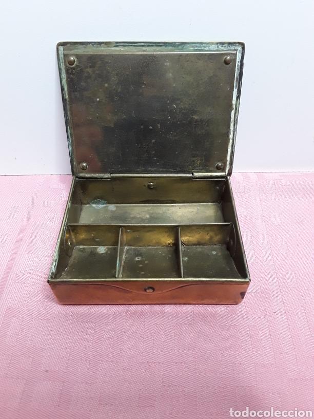Cajas y cajitas metálicas: Caja para sellos - Foto 2 - 257296780