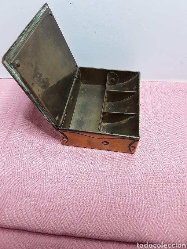 Cajas y cajitas metálicas: Caja para sellos - Foto 3 - 257296780