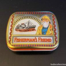 Cajas y cajitas metálicas: CAJITA METÁLICA FISHERMAN'S FRIEND. Lote 259928105