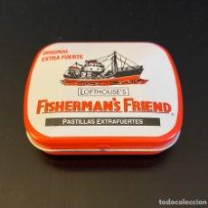 Cajas y cajitas metálicas: CAJITA METÁLICA FISHERMAN'S FRIEND. Lote 259928320