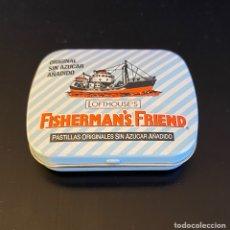 Cajas y cajitas metálicas: CAJITA METÁLICA FISHERMAN'S FRIEND. Lote 259928570