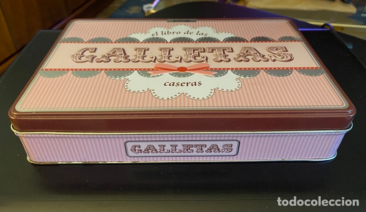"""Cajas y cajitas metálicas: Caja metálica """"Galletas"""" - Foto 2 - 259930810"""
