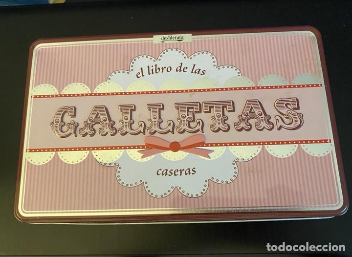 """CAJA METÁLICA """"GALLETAS"""" (Coleccionismo - Cajas y Cajitas Metálicas)"""