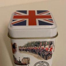 """Cajas y cajitas metálicas: CAJITA METÁLICA """"LONDON TEA"""". Lote 259933795"""