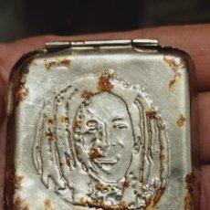 Cajas y cajitas metálicas: BOB MARLEY CAJA METAL PAPEL CIGARRILLOS RASTAMAN VIBRATION FOR EVER SOBADA OXIDO. Lote 261269255