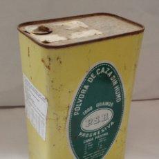 Casse e cassette metalliche: ANTIGUA LATA UNIÓN EXPLOSIVOS RÍO TINTO - OVIEDO. Lote 261863705