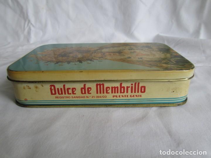 Cajas y cajitas metálicas: Caja de lata Dulce de membrillo, Puentegenil, Virgen de la Macarena - Foto 6 - 262063050