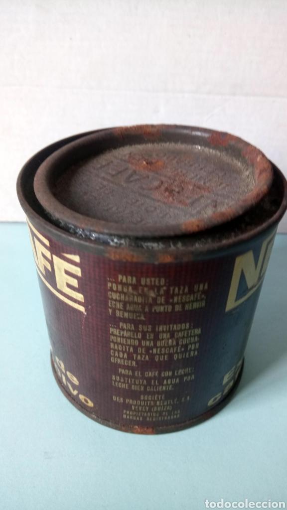 Cajas y cajitas metálicas: BOTE DE NESCAFÉ. EXTRACTO DE CAFÉ EN POLVO. AÑOS 60. - Foto 2 - 262529590