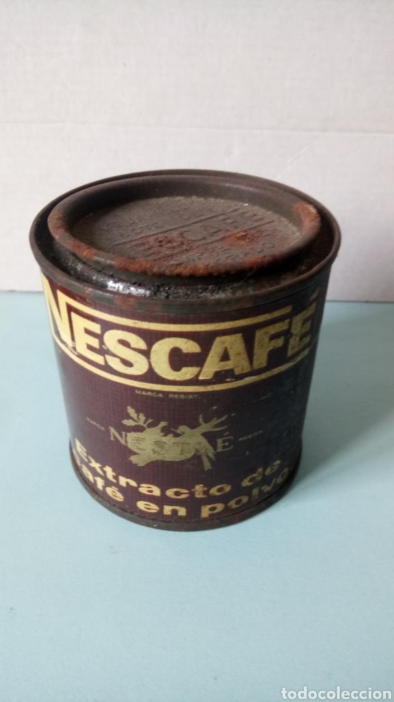 Cajas y cajitas metálicas: BOTE DE NESCAFÉ. EXTRACTO DE CAFÉ EN POLVO. AÑOS 60. - Foto 3 - 262529590