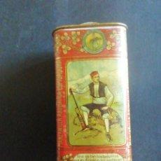 Cajas y cajitas metálicas: CAJA DE LATA MANZANILLA AROMÁTICA ESPIGADORA. 12.5 X 5.5 CM. Lote 262533680
