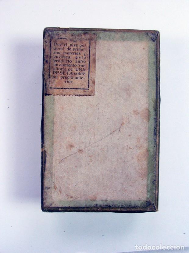 Cajas y cajitas metálicas: ANTIGUA CAJA DE FARMACIA PARA ETIQUETAS DE 15 CENTIMOS. VARIOS SELLOS - Foto 3 - 263537610