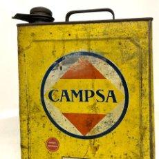 Cajas y cajitas metálicas: LATA DE ACEITE - CAMPSA. Lote 264174084