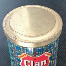 Cajas y cajitas metálicas: BOTE DE TABACO DE PIPA CLAN 200G. Lote 267428649