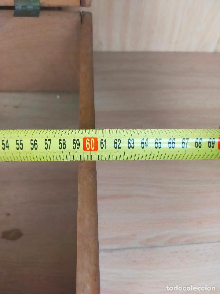 Cajas y cajitas metálicas: CAJA MALETIN EN MADERA FARMACIA LLORCA - Foto 7 - 267593769