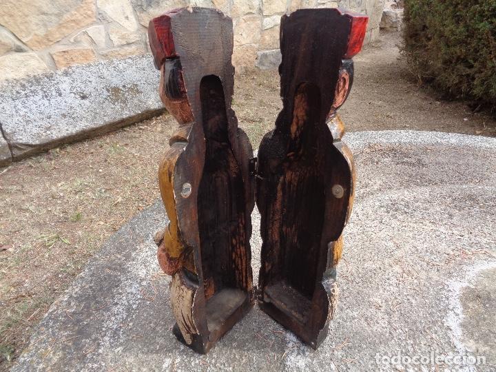 Cajas y cajitas metálicas: talla madera para botella - Foto 2 - 268729139
