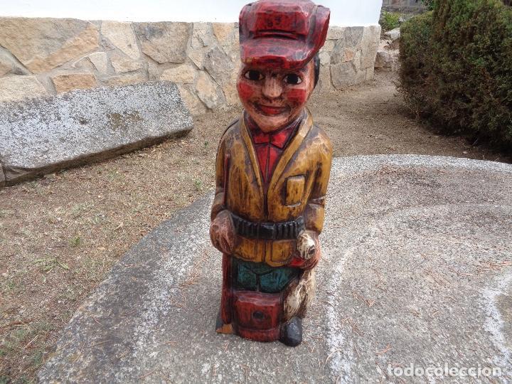 Cajas y cajitas metálicas: talla madera para botella - Foto 5 - 268729139
