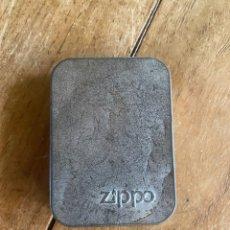 Cajas y cajitas metálicas: CAJA VACÍA ZIPPO. Lote 269248608