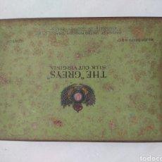 Cajas y cajitas metálicas: ANTIGUA CAJA DE HOJALATA LITOGRAFIADA THE GREY'S LONDON. Lote 269360258