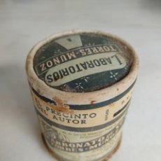 Cajas y cajitas metálicas: ANIGUO BOTE BICARBONATO DE SOSA TORRES MUÑOZ. Lote 269600898