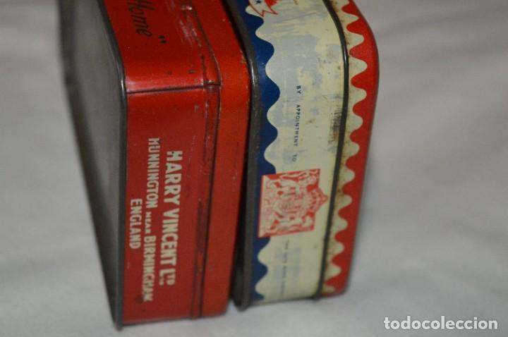 Cajas y cajitas metálicas: Inglesas 3 CAJAS / Cajitas HOJALATA LITOGRAFIADA - Antiguas, vintage/variadas ¡Mira fotos/detalles! - Foto 7 - 273729293