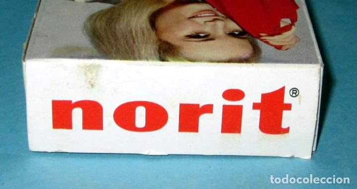 Cajas y cajitas metálicas: NORIT ANTIGUA CAJA DE CARTON DETERGENTE SIN ABRIR AÑOS 60 EN MUY BUEN ESTADO, LOTE 13 - Foto 3 - 276207803