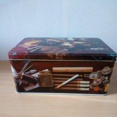 Boîtes et petites boîtes métalliques: CAJA DE CHAPA DE COLA CAO : FUMADORES. Lote 276279733