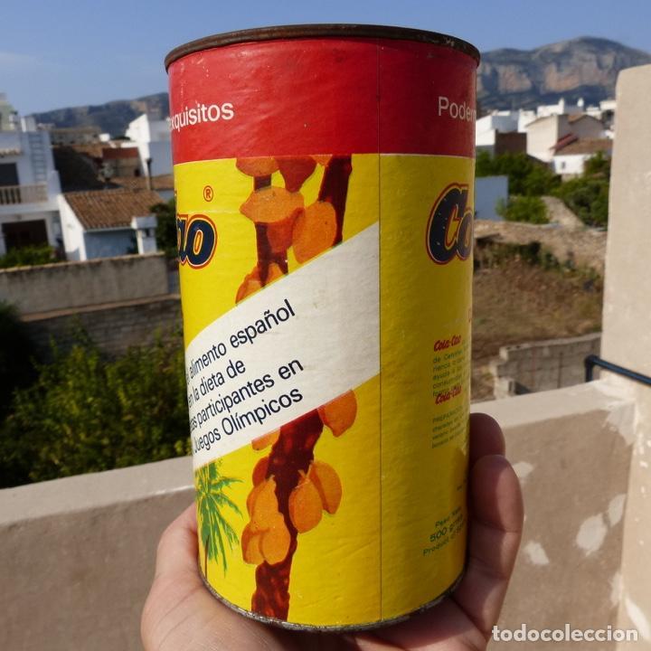 Cajas y cajitas metálicas: Antiguo envase o bote de cola cao 500 gr , munich 1972 - Foto 2 - 276699183