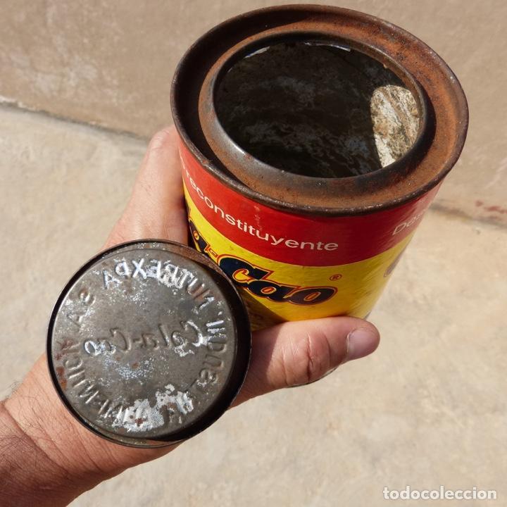 Cajas y cajitas metálicas: Antiguo envase o bote de cola cao 500 gr , munich 1972 - Foto 8 - 276699183