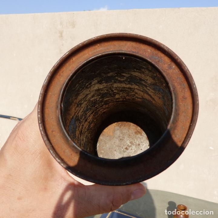 Cajas y cajitas metálicas: Antiguo envase o bote de cola cao 500 gr , munich 1972 - Foto 9 - 276699183
