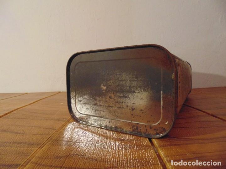 Cajas y cajitas metálicas: Antigua Lata de Aceite de Oliva CARBONELL sin abrir años 70s ? - Foto 7 - 276797318