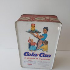 Cajas y cajitas metálicas: CAJA COLA CAO. Lote 277136643
