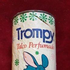Cajas y cajitas metálicas: BOTE TACO PERFUMADO TROMPY AÑOS 70. Lote 277143173